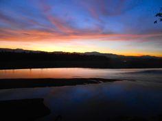 sunset on Panay island