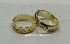Cincin Kawin desain grafir huruf jawa Laser,info order:pinBB: 521D3B3F  call/wa: 089653501345 website: www.geraicincin.com