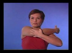 Rotator Cuff Stretches.  I swear by these and do them twice a day.
