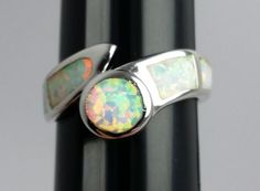 Lovely-Mexican-Fire-Opal-Silver-Ring-Size-6