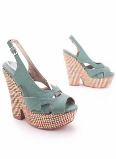 cute and colorful summer shoes - heels