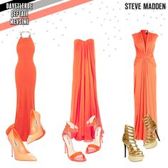 peach, color, Steve Madden, shoes, outfit