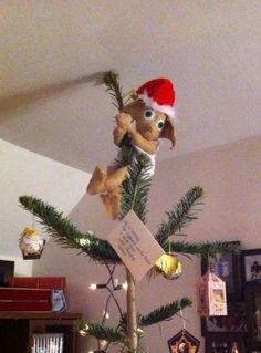 Harry potter inspired House Elf Christmas Tree Topper