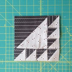 Quilt block by Brooklyn Quilting Co.  www.brooklynquiltingco.com #brooklynquiltingco #quiltblock #denyseschmidtfabric