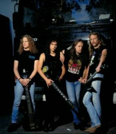 """Metallica during """"Black Album"""" years."""