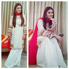 Beautiful Ayeza Khan ♥ ♥ ♥ #Gorgeous #Cute #Smile #PakistaniCouture #PakistaniActress Simple Dresses, Nice Dresses, Casual Dresses, Fashion Dresses, Pakistani Dress Design, Pakistani Outfits, Stylish Girl Pic, Stylish Dp, Pakistani Culture