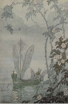 Hilda Hechle❤•♥.•:*´¨`*:•♥•❤          The fairy boat.