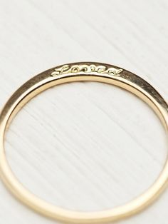 Free People Loved Ring With Diamonds