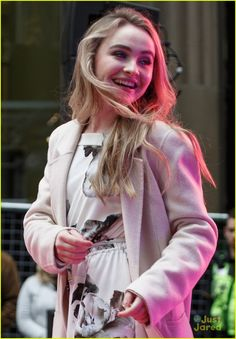 Sabrina Carpenter Performs At Disney Channel s FanFest in Sydney  Photo  Sabrina Carpenter is all smiles on stage during a Q A session with fans at  Disney ... c9f89c5fa1f0