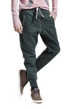 Calça de Moletom Jogging Masculina Verde - Compre já - KING55 Loja de roupas
