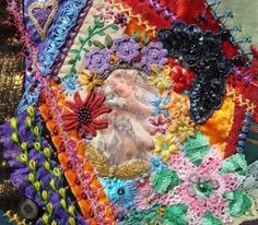 Crazy Quilt Journal Project 2012 by lourdes