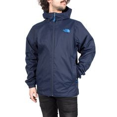 Giacca a vento uomo The North Face Mountain Quest Jac Cosmic Blue