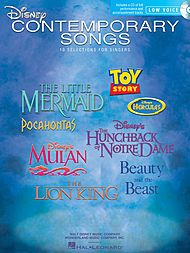 Disney Contemporary Songs Sheet Music by Various | Sheet Music Plus
