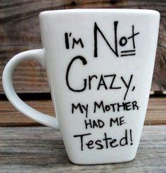 Sheldon Cooper quote mug