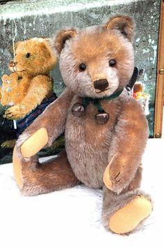 Exceptional Antique / Vintage German Steiff Teddy Bear with button Circa 1950' in Dolls & Bears | eBay