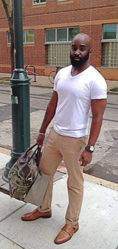 Casual Great Mens Fashion, Men's Fashion, Black Is Beautiful, Panama Hat, Personal Style, Khaki Pants, Dressing, My Style, Casual