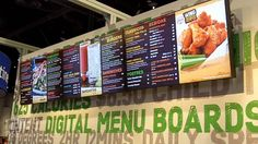 Digital signage for your restaurant