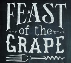 Dig in to the Feast of the Grape Wine Festival at DAria this weekend Typographic Poster, Wine Festival, Graphic Design Inspiration, South Africa, Branding, Events, Drink, Food, Happenings