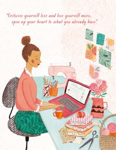 Resolve To Be Happy by Holly Becker, illustration by Emma Block.