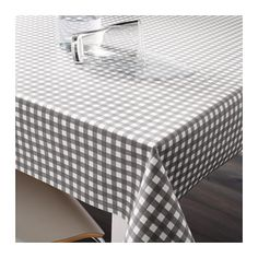 IKEA BERTA plastic-coated fabric Can be easily cut to the desired length without hemming.