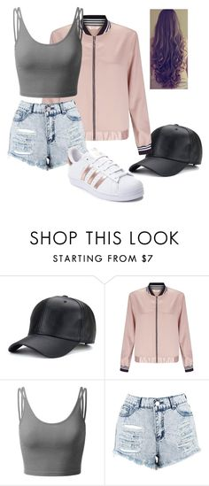 """""""Untitled #179"""" by lilicabsilveira-1 on Polyvore featuring Miss Selfridge, Doublju, Boohoo and adidas"""