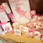 Pink Piggie Birthday Party Decoration IDeas