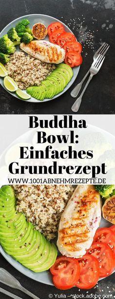 Buddha Bowls sind lecker, einfach in der Herstellung und sehr gut während einer Diät geeignet. Rezepte gibt es viele, dieses hier ist schnell und einfach und immer wieder abwandelbar. Es ist zum Mitnehmen und auch für Kinder geeignet. Auch eine Variante in vegetarisch ist möglich. Brokkoli, Fleisch und Quinoa sind bei diesem Rezept auf deutsch die Hauptkomponenten. #buddha #bowl #abnehmen #diät #rezepte #zummitnehmen #brokkoli #quinoa #Fleisch #vegetarisch #Kinder