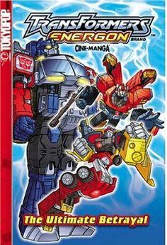 Transformers Energon vol 2 manga