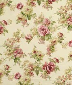 Robert Allen Robert Allen Painted Garden Tulip Fabric - $30.85 | onlinefabricstore.net Drapery Fabric, Curtains, Robert Allen Fabric, Floral Printables, Fabric Wallpaper, Fabric Online, Floral Fabric, Vintage Floral, Flower Designs