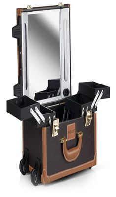 d8181d2ab Mini Maletín de Maquillaje con Ruedas Marrón (299 €). INGLOT España ·  Maletas de maquillaje profesionales.