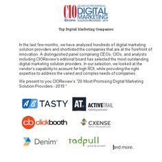 Top Digital Marketing Companies - Technology Blog 1 - Medium Top Digital Marketing Companies, Shoppable Instagram, Editorial Board, Social Proof, Marketing Automation, Conversation, Innovation, John Stones, Technology