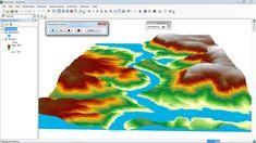 ArcGis 3d Analyst/ ArcScene Animation of flood