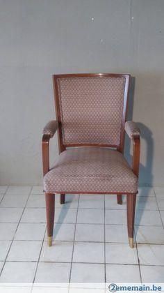 1950s Mahogany Desk Chair by Josef De Coene - A vendre