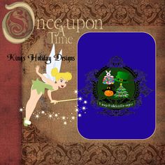 Tinker Bell Quick Page 8 x 8 by KingsHolidayDesign on Etsy