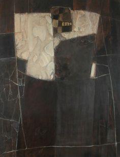 Catherine Severac - atelier: I - 146x114 - huile sur toile