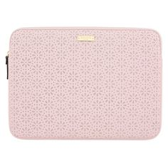 """Kate Spade Perforated 13"""" Macbook Sleeve - Rose Quartz by Kate Spade New York 