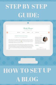 The ultimate step-by-step guide to starting your own blog. Everything you need to know from buying a domain to setting up wordpress! Pin now, read later!