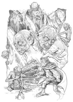 Gollum by NachoCastro on DeviantArt