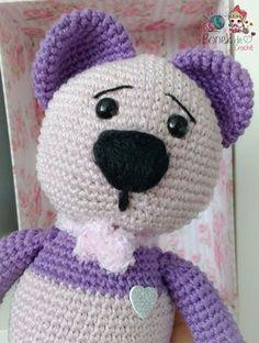 Ursinho amigurumi passo a passo – Bonek de Crochê