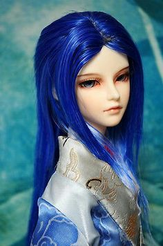 Blue fantasy male
