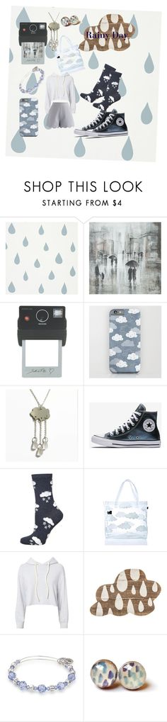 """Raaaiiiiin"" by ladyleo-macaron ❤ liked on Polyvore featuring Leftbank Art, Donkey Products, Dorothy Perkins, Lazy Oaf, Monrow, Alex and Ani and Chicwish"