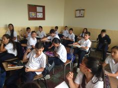 My experience in Colombia Classroom at http://spanishplans.org/2014/12/08/colombian-school/