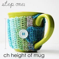 Life Made Creations: Crochet Mug Cozy