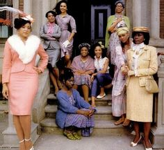 """""""The Women of Brewster Place"""" (1989 miniseries) - Film adaptation of novel by Gloria Naylor, starring Jackee Harry, Paula Kelly, Lonette McKee, Phyllis Yvonne Stickney, Oprah Winfrey, Lynn Whitfield, Olivia Cole, Robin Givens and Cicely Tyson."""