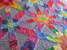 ~ Zany Quilter ~: Supernova is quilted...