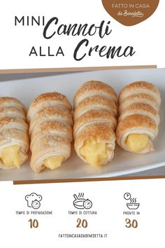 Cannoli, Cake Recipes, Dessert Recipes, Biscotti, Chiffon Cake, Food Cravings, Hot Dog Buns, Italian Recipes, Bakery