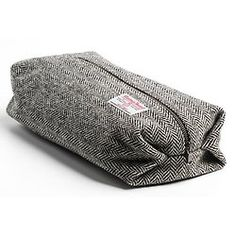 Harris Tweed Toilet Bag
