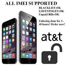iPhone Unlock – USA AT&T – [ALL IME'S OK]