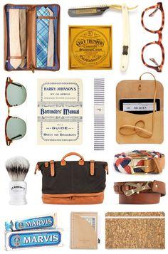 กระเป๋าผ้า แว่นตา และไอเทมเท่ๆ