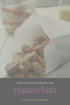 Traumstücke für euren Plätzchenteller. Traumhaft zartes Gebäck nicht nur zu Weihnachten.. #kekse #plätzchen #weihnachtsbäckerei #weihnachten